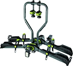 BUZZ RACK Approach 2-Bike Platform Hitch Rack, E-Bike Compatible, Fat Bike Compatible with Additional Purchase of The kit