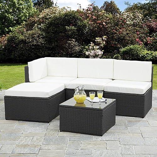 Tremendous Rattan Corner Sofa Amazon Co Uk Download Free Architecture Designs Ogrambritishbridgeorg