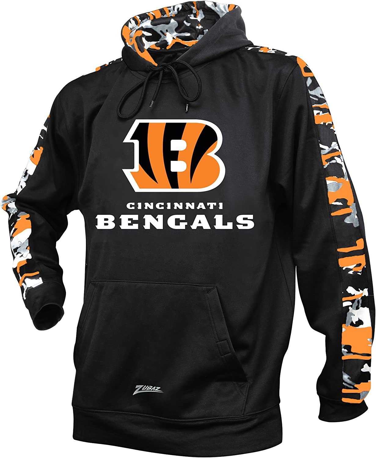 Zubaz Officially Licensed Men's Excellent NFL Camo Hood All items in the store Accent Print