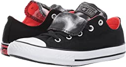 Chuck Taylor All Star Double Tongue Animal Ox (Little Kid/Big Kid)