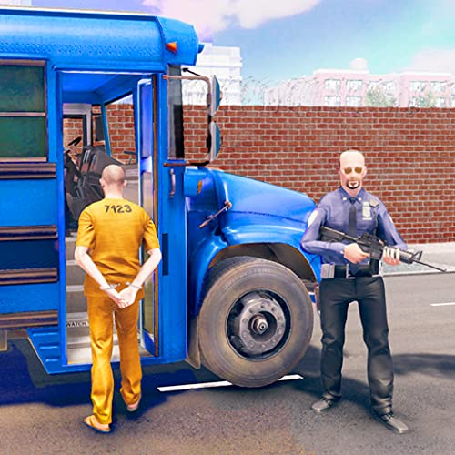 Crime City Town Jail Prisoners Transport Van: Police Bus Driving Pro Best Free Game 2020