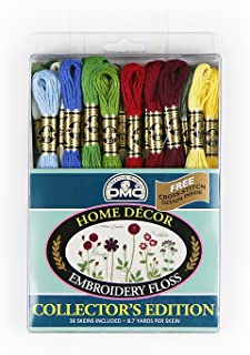 DMC Embroidery Floss Pack 8.7yd, Home Decor 36/Pkg