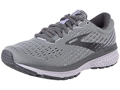 Brooks Ghost 13 SINGLE SHOE (Grey/Blackened Pearl/Purple) Women