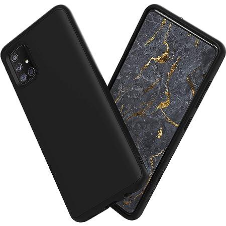 RhinoShield Coque Compatible avec [Samsung Galaxy A51]   SolidSuit - Housse Fine avec Technologie Absorption des Chocs & Finition Premium - Noir ...
