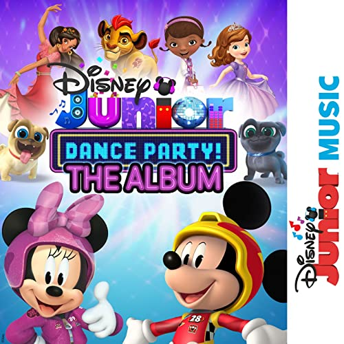 disney junior music dance party  the album by various artists on amazon music