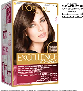 L'Oreal Paris Excellence, 4.0 Brown