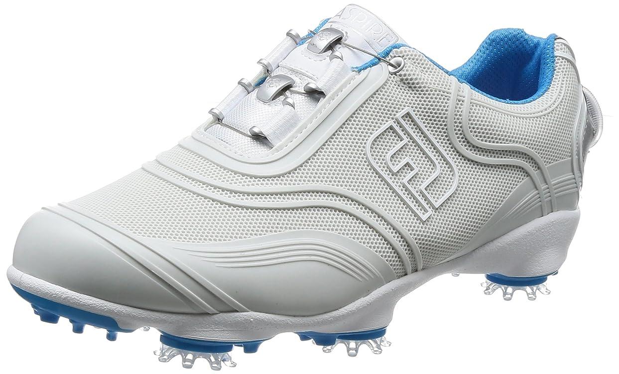 パプアニューギニア感心する知覚できる[フットジョイ] ゴルフスパイク FJ アスパイア 98904 レディース