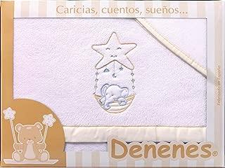 Danielstore Estrella beige S/ábanas Cuna Franela 100/% algodon