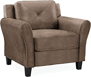 Lifestyle Solutions Collection Grayson Micro-fabric Chair, Brown