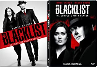 The Blacklist: Complete Series Seasons 4-5 DVD