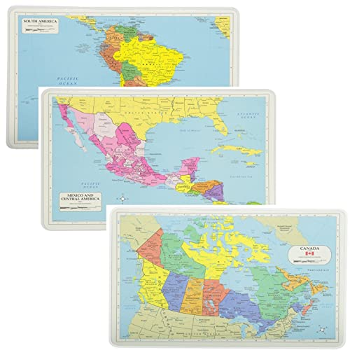 Map Of America And Central America.Central America Map Amazon Com
