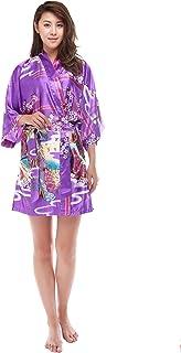 和風ガウン バスローブ 着物 kimono robe