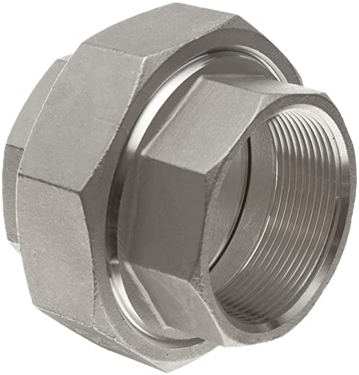 Stainless Steel 304 Union Coupling 2 Npt Pipe Class 150 from TIB