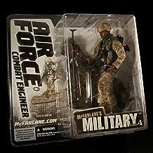 AIR FORCE COMBAT ENGINEER * AFRICAN AMERICAN VARIATION * McFarlane's Military Series 4 Action Figure & Display Base