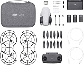 DJI CP.MA.00000123.01 Mavic Mini Combo - Drone FlyCam Quadcopter with 2.7K Camera 3-Axis Gimbal GPS 30min Flight Time - Official US Version