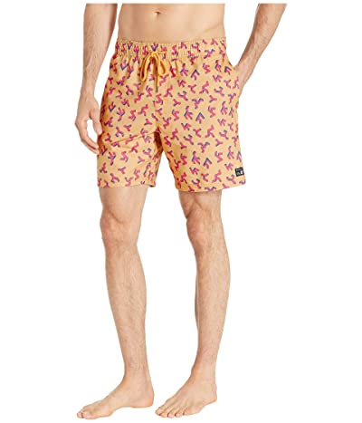 RVCA Out There Elastic Shorts 17 (Apricot) Men