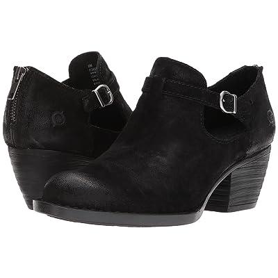 Born Mendocino (Black Distressed Leather) Women