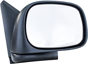 Dependable Direct Right Passenger Side Mirror - Power Operated, Textured, Heated, Folding for Dodge Ram 1500 2500 3500 (2002 2003 2004 2005 2006 2007 2008 2009 2010) - CH1321215