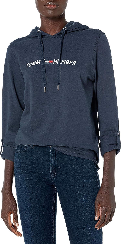 Tommy Hilfiger Women's Premium Performance Hooded Long Sleeve Tee