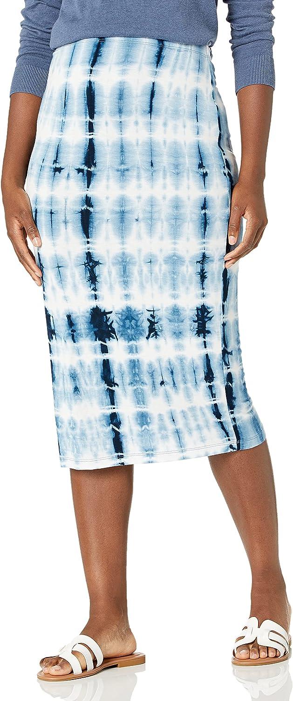 Karen Kane Women's Tie-dye Midi Skirt