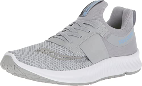 Saucony Wohommes Stretch N Go Breeze FonctionneHommest chaussures, gris, 9.5 Medium US