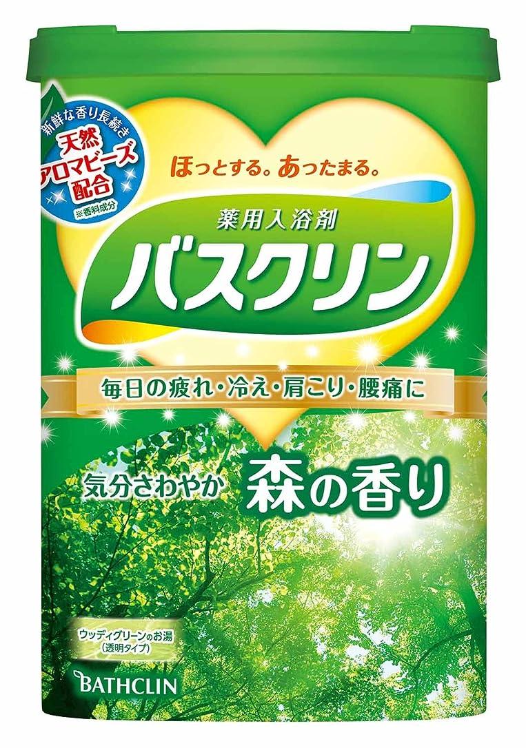 ビジョン削減優しいバスクリン森の香り600g