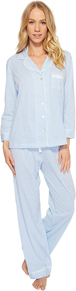 Carole Hochman - Soft Jersey Notch Collar Pajama