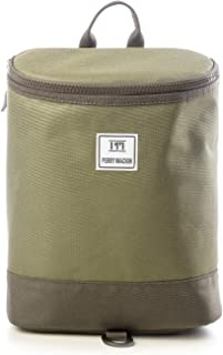 Perry Mackin Toddler Harness Backpack - Anti Lost Kids Travel Bag with Detachable Safety Leash - Khaki