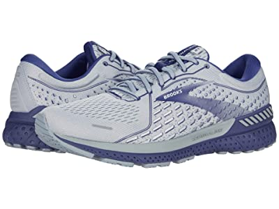 Brooks Adrenaline GTS 21 (Grey/Tradewinds/Deep Cobalt) Men