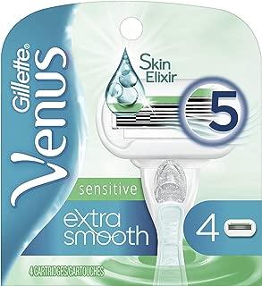 Gillette Venus Extra Smooth Sensitive Women's Razor Blades - 4 Count Refills