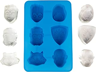 Guardians of the Galaxy Silicone Ice Cube Tray or Chocolate Mold - Groot, Star Lord, Rocket Raccoon and More - Makes 6 Cubes