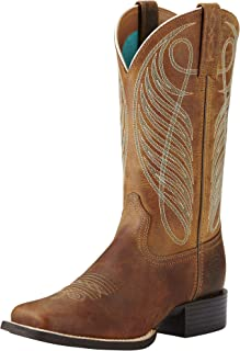 most comfortable cowboy boots for wide feet