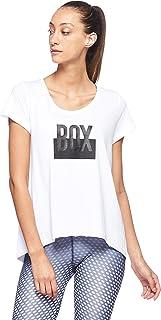 BodyTalk Women's BOXINGW T-Shirt, White, Small