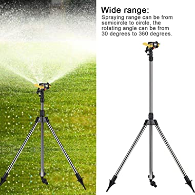 xiangxin Water Irrigation Tool, Sprinkler Tripod Set, Spray Irrigation Tool Spray Uniformly and Accurately on Plants Courtyar