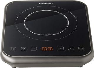 BRANDT - Plaque à induction portable - Rapide avec 10 niveaux de puissance jusqu'à 2000 W - Sécurité maximale avec verroui...