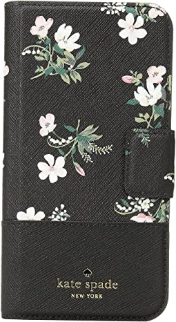 Kate Spade New York - Flora Wrap Folio Phone Case for iPhone® X