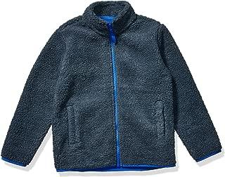 Amazon Essentials Boy's Polar Fleece Lined Sherpa Full-Zip Jacket