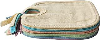 MY NEWBORN® Baby Cotton Bibs-Set of 6