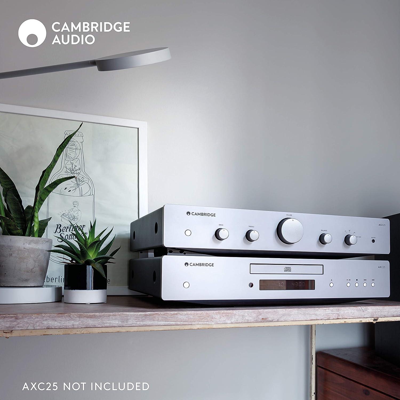 Amazon.com: Cambridge Audio AXA25 25 Watt 2-Channel Integrated Stereo  Amplifier | 3.5mm Input, USB Input: Electronics
