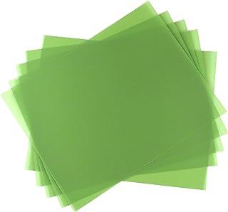 "5 Sheet Bundle 30 Micron (600 Grit) PSA Lapping Microfinishing Film Aluminum Oxide (AO) 8 1/2"" x 11"" 266Xx5"