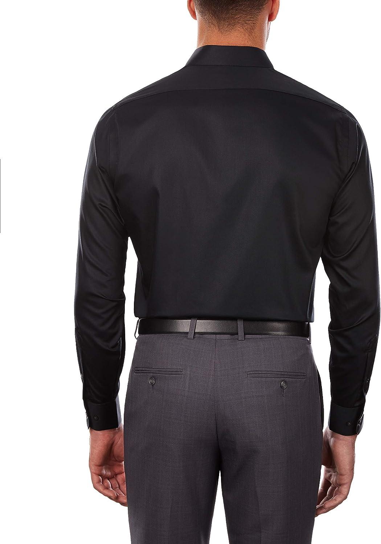 Buy Arrow Men's Dress Shirts Regular Fit Sateen Solid Online in ...