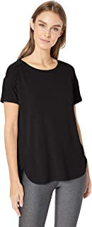 Amazon Essentials Women's Studio Relaxed-Fit Crewneck T-Shirt