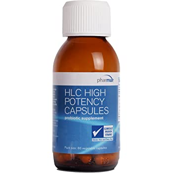 Pharmax - HLC High Potency Capsules - Probiotics to Promote Gastrointestinal Health in Adults and Children - 60 Capsules