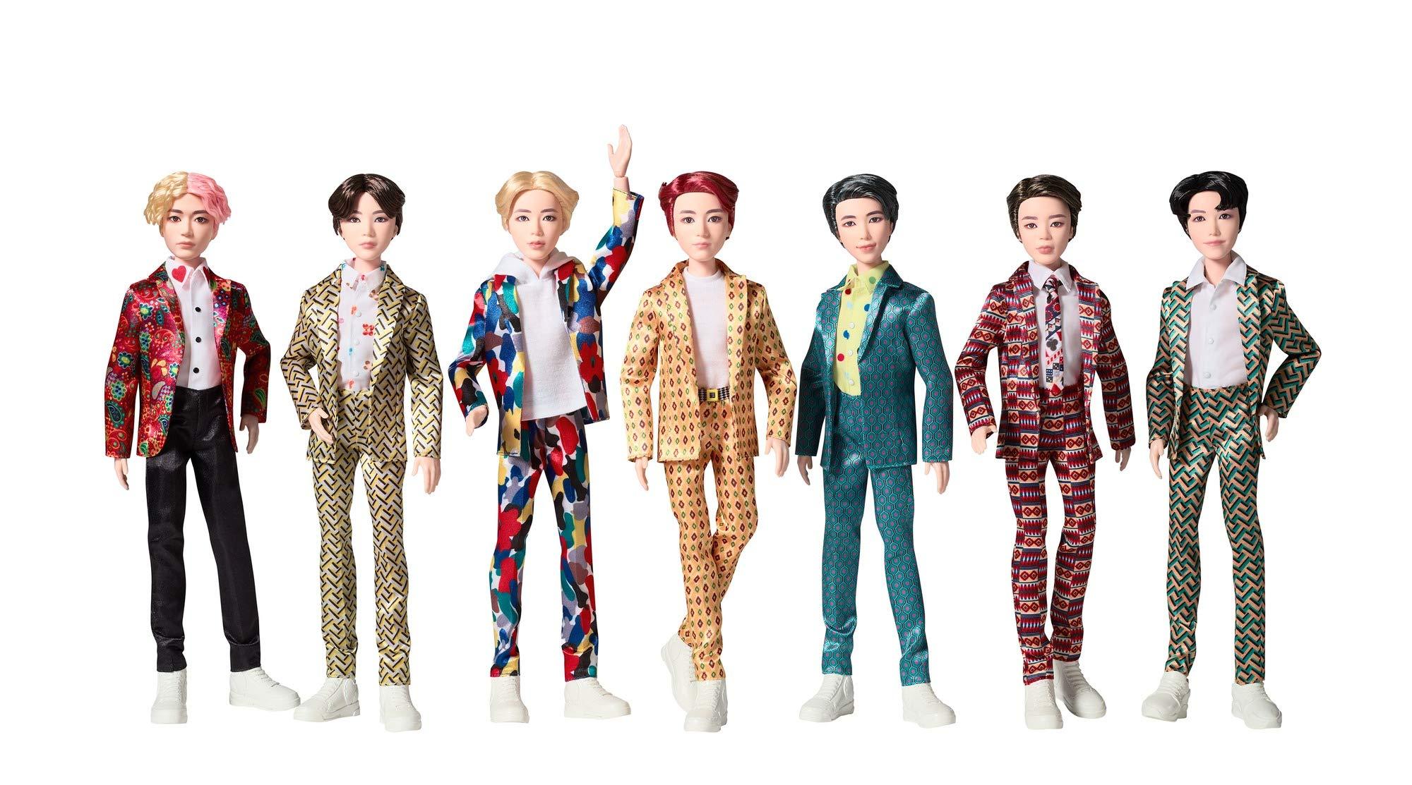 BTS 마텔 인형 기프트 세트 29CM ('IDOL' 뮤직비디오 의상) Bangtan Boys BTS Idol Doll Giftset