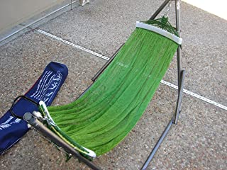 Indoor/outdoor BAN MAI Baby Hammock Swing Bed with Adjustable Medium Duty Metal Frame and a Free Hand Carry Bag