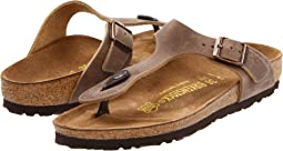 a65ce0a41f8e Tobacco Oiled Leather. Birkenstock. Gizeh Oiled Leather