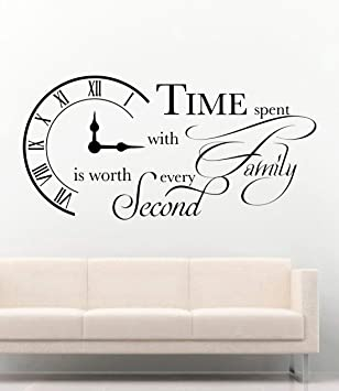 Family Inspirational Quotes Wall Stickers Living Room Decals Home Decorations