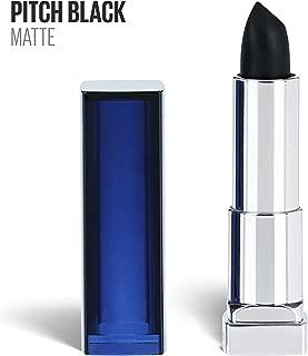 maybelline black lipstick