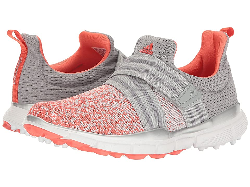 adidas Golf Climacool Knit (Light Onix/Clear Onix/Easy Coral) Women's Golf Shoes