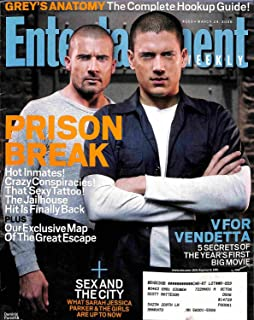 Entertainment Weekly March 24 2006 - Prison Break Sex and the City V For Vendetta (#869)